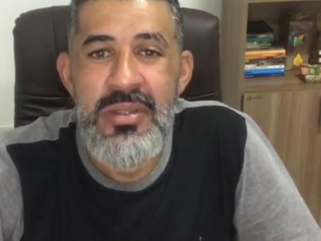 Em redes sociais, Alan da Casal diz ser ameaçado por uma pessoa em tom de politicagem em Piranhas