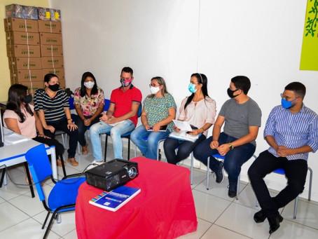 SEMED reúne representantes da sociedade civil para discutir retorno das aulas