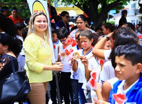PSD confirma Cristina Costa como pré-candidata a Prefeita no Inhapi.