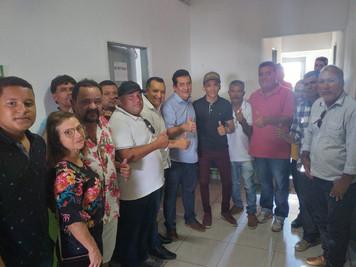 Em Água Branca, Deputado Federal Severino Pessoa declara apoio à Pré-Candidatura de Paulo Campos.