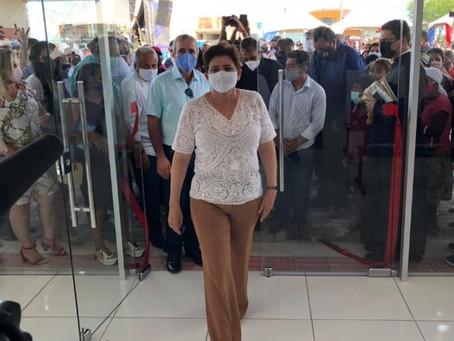 Prefeita Maristela Sena Dias entrega Unidade Básica de Saúde do Distrito de Piau