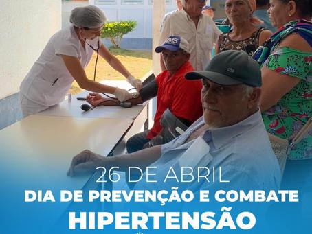 Prefeitura de Mata Grande realiza o dia da prevenção e combate a Hipertensão