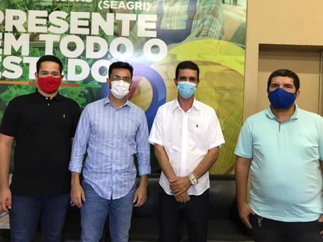 Tony de Campinhos busca investimentos para o desenvolvimento da agricultura familiar de Pariconha