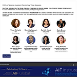 Tissa Richards is the keynote speaker at AIF Women's Investor Forum
