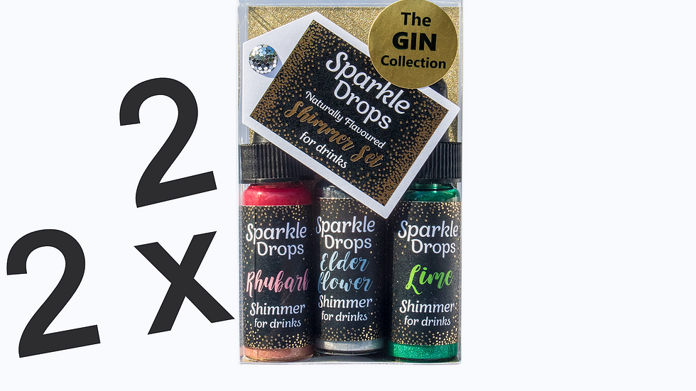 2 x The Gin Collection - 60ml