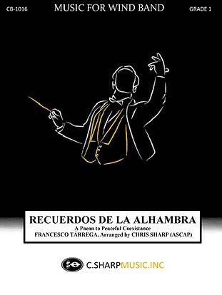 Recuerdos de la Alhambra concert cover 9