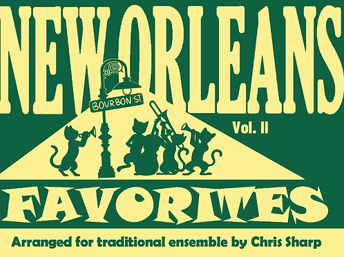 NOF-206 - NEW ORLEANS FAVORITES II - (Opt. DRUMS)
