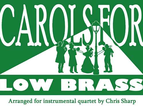 CAROLS FOR LOW BRASS (PART 2) - Bass Clef
