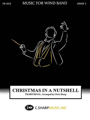 Christmas in a Nutshell concert cover 9x