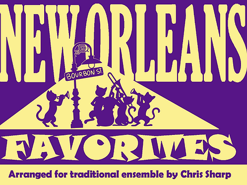 NOF-008 - NEW ORLEANS FAVORITES (opt. PIANO/BANJO)