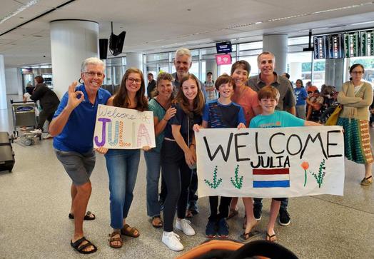 Welcoming our amazing internatonal exchange students! We love them!