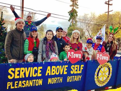 Rotary holiday parade