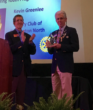 Special recognition for deserving Rotarians