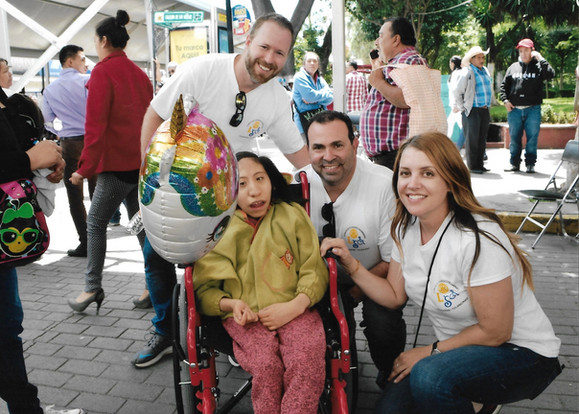 Delivering much needed wheelchairs to Tulancingo, Mexico