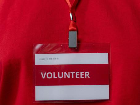 Volunteer Now!