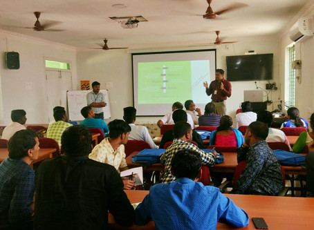 MABIF  handled two sessions in AC&RI,Kudumiyanmalai.