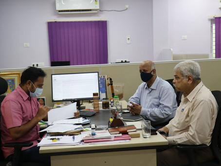 Vice President of Alliance insurance visited MABIF