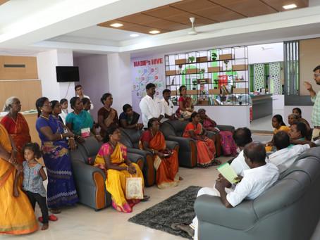 Exposure visit of  Anakkavur CFPCL,Thurinjapuram CFPCL and Chetpet CFPCL