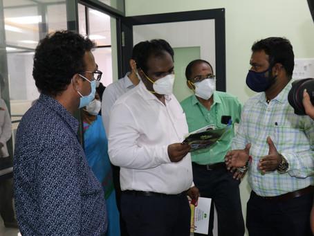 District Collector, Madurai visited MABIF