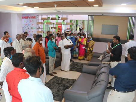 Bodhidarman CFPCL and Varam CFPCL visited MABIF