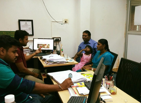 An alumnus of TNAU visited MABIF