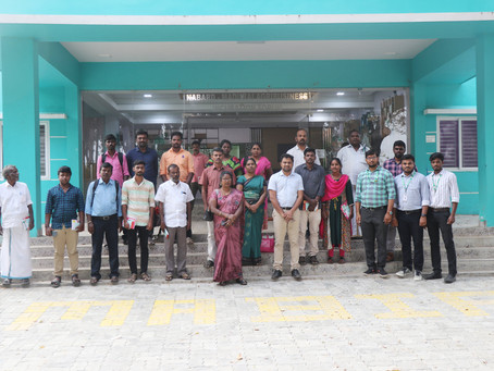 """First Batch of """"One Day Capacity Building Training NABARD supported FPOs"""""""