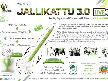 MABIF's Jallikattu 3.0 Registration Opens...