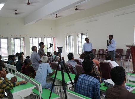 Alumni of TNAU Madurai Dr.S.Anbalagan IFS