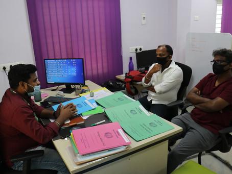 Mr. Karthikeyan from Chennova Pvt ltd visited MABIF