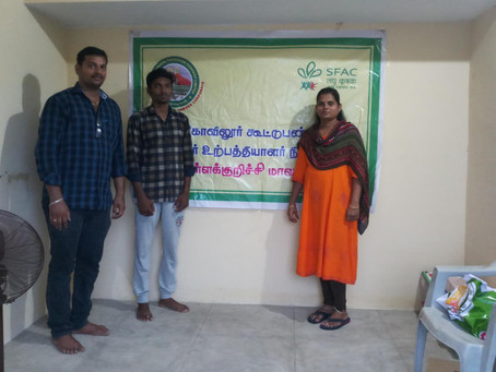 MABIF visited Tirukovilur Collective Farming Producer Company Limited