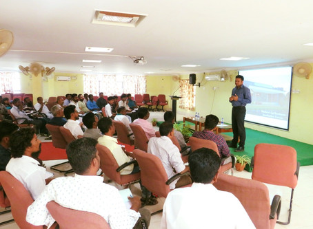 """""""Training Session on Business Model Canvas and Guidelines for Bank Loan"""" by CEO, MABIF"""