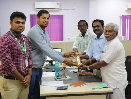 Trichy Pasumai Farmer producer Company visited MABIF
