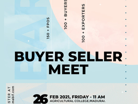 Buyer Seller Meet  -  MABIF AGFEST'21