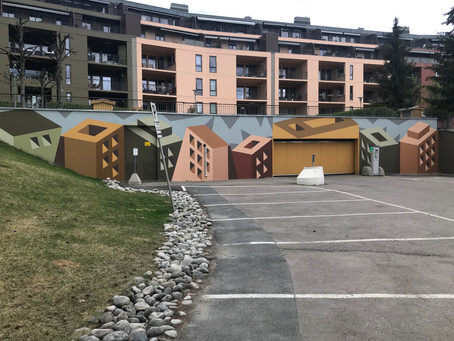 VEGGMOTIV - Badebakken