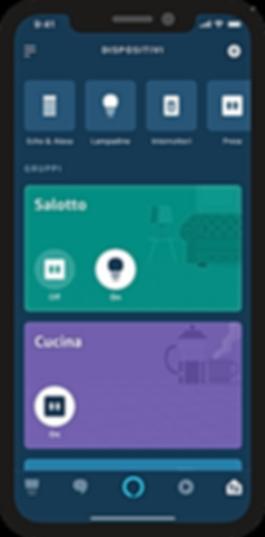 Alexa App KNX