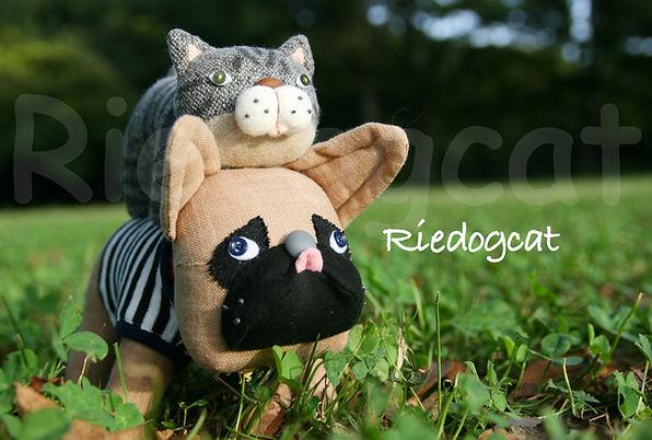 フレンチブルドッグ 猫 ぬいぐるみ