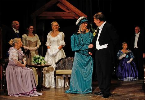 Ideal Husband with Sylvia as Lady Markby