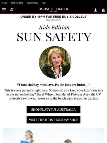 Sun safety - House of Fraser.jpg