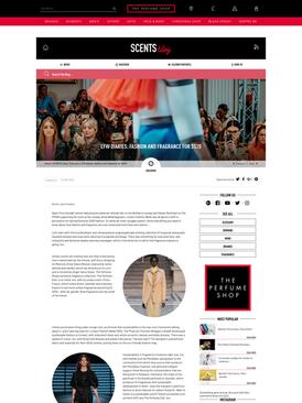 LFW - The Perfume Shop