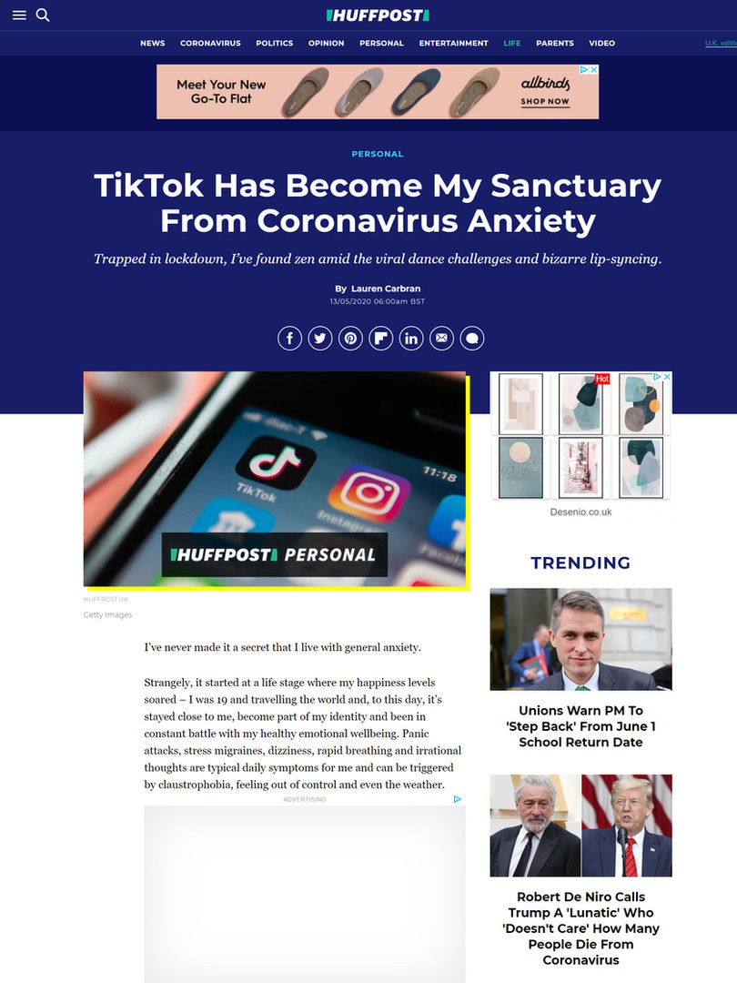 TikTok Has Become My Sanctuary From Coronavirus Anxiety. jpg