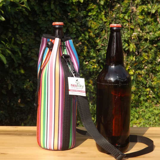 porta botella cerveza