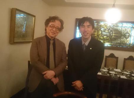 本格ミステリ作家・島田荘司先生のパーティーにてジビエを提供