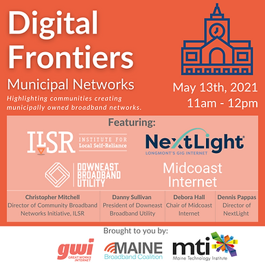Digital Frontiers: Municipal Networks, Part 1
