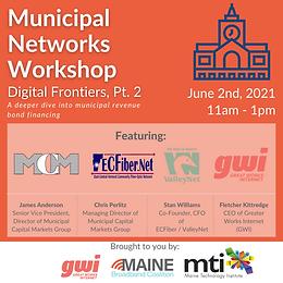 Municipal Networks Workshop