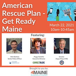 American Rescue Plan - Get Ready Maine