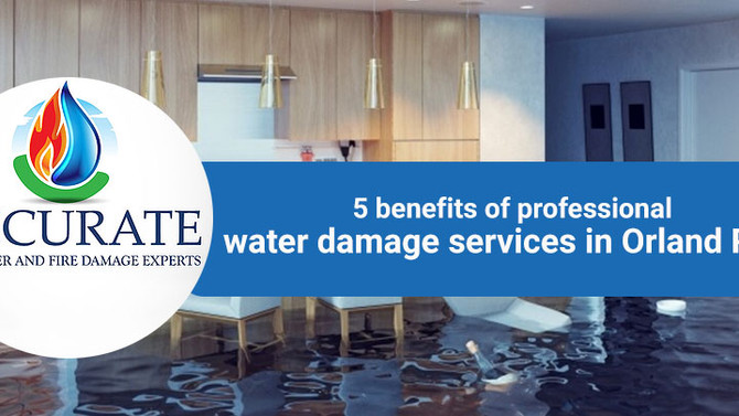 5 benefits of professional water damage services in Orland Park