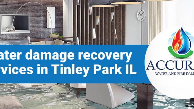 How to solve water damage issues in Tinley Park IL?