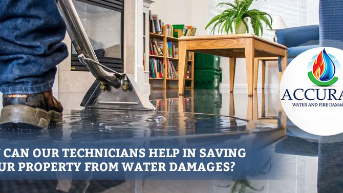 How to protect your property from water damages in Orland Park?
