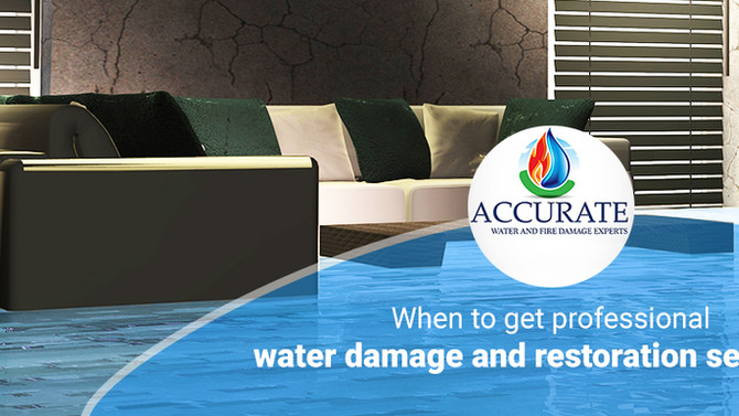 When to get professional water restoration services in Tinley Park IL?