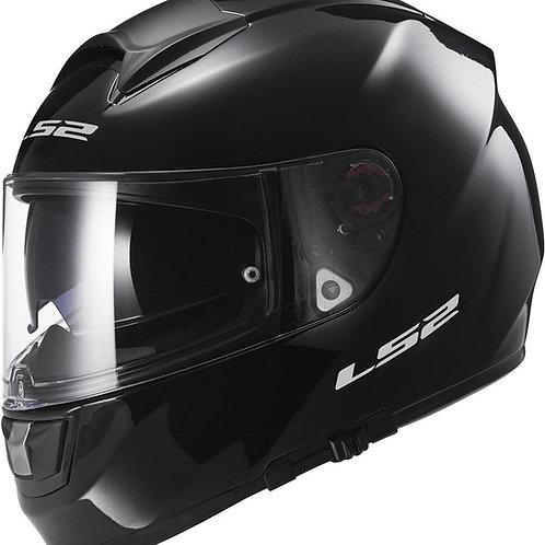 LS2 FF397 Vector Solid Gloss Black